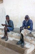 Deux Indiens de Khajuraho