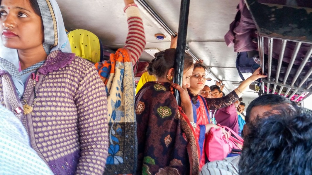 Mon bus entre Pushkar et Bundi