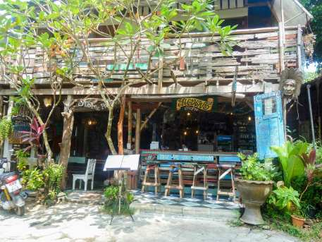 Cafés restaurants de Lonely Beach à Ko Chang