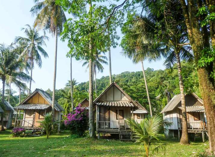 Bungalows de Ko Chang
