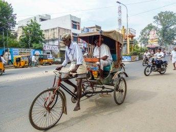 cycle rickshaw à Madurai