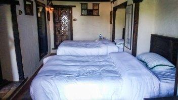 La chambre de L'hôtel The Old Inn à Bandipur