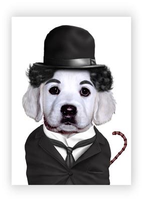Chaplin web card