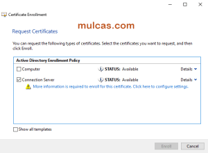 Vdi Lab 2018 Part 10 Signed Certificate For Horizon Connection