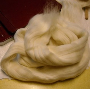 weighed wool