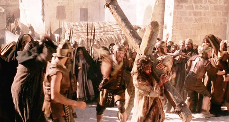"""Cena do Filme """"A Paixão de Cristo"""", de Mel Gibson. Foto: Reprodução."""