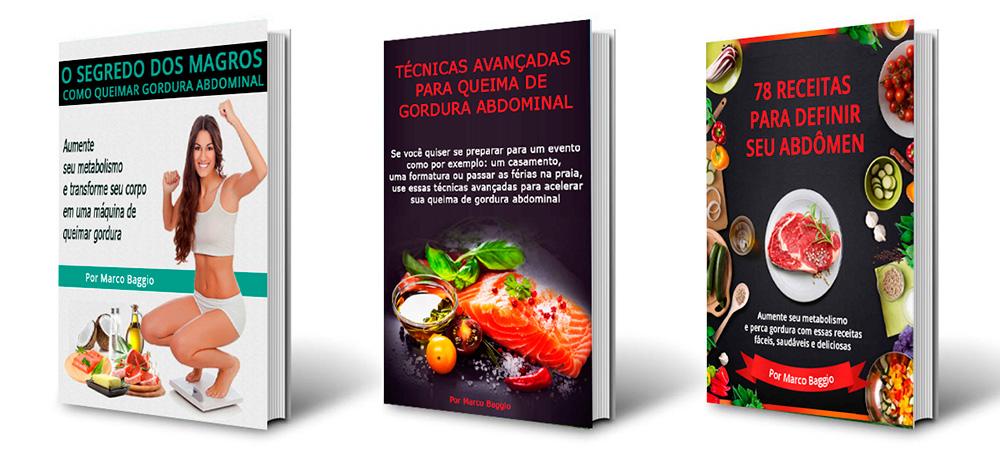 Guia Queima de Gordura Abdominal Livros