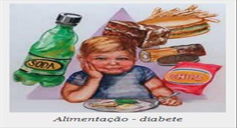 alimentação diabete infantil