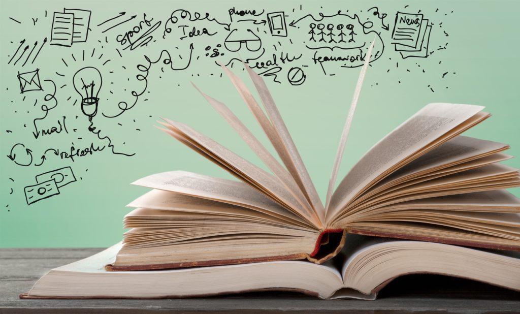 Viaje através das páginas de livros inspiradores