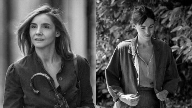 Clotilde Courau e Lena Paugam