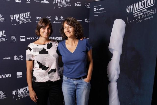 """A produtora Eugenia Mumenthaler e a diretora Olga Baillif, de """"Ao Redor de Luisa"""" - Foto: Mario Miranda Filho/ agenciafoto.com.br"""
