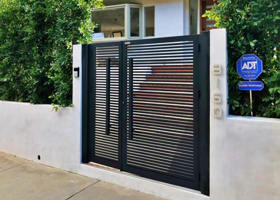 Specialty Aluminum entry gate