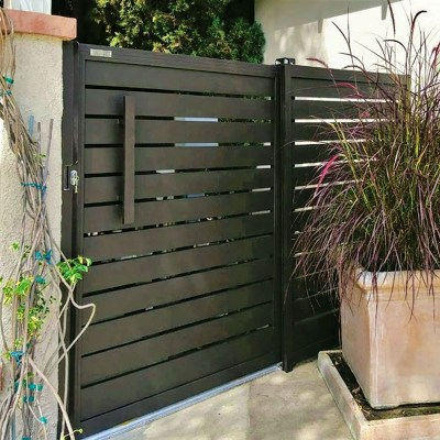 Specialty Aluminum side entry gate
