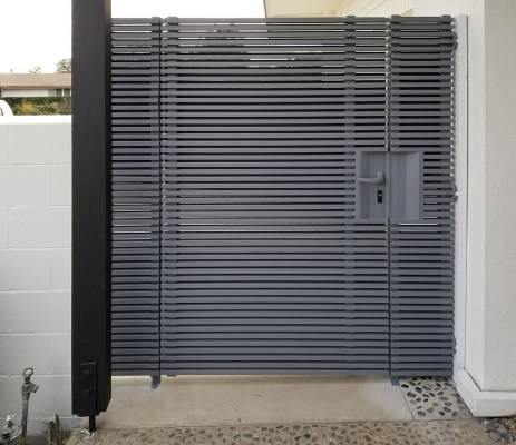 Hi-tech Aluminum side entry gate