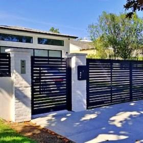 gates increase curb appeal
