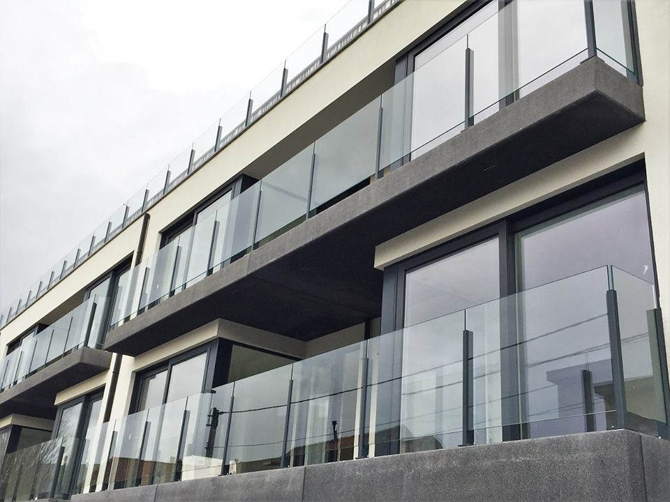 Orbit 2 - Aluminum & Glass Railings for Residential Balcony