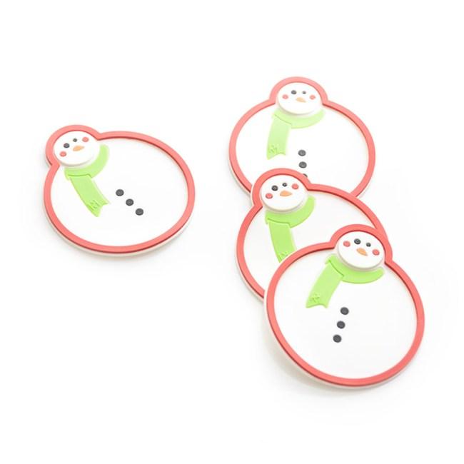 portavasos hombre de nieve _1