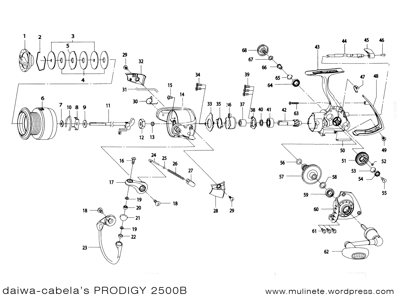 Daiwa Cabela S Prodigy B