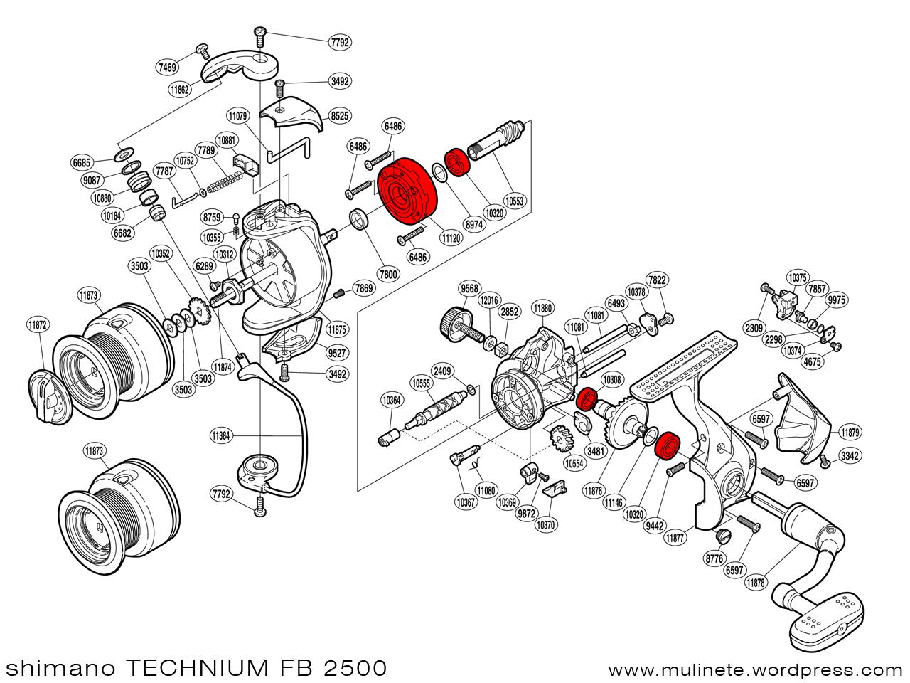Shimano Technium Fb
