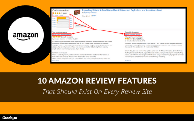 10 Amazon Review Features That Should Exist On Every Review Site