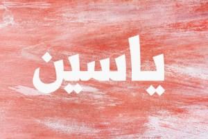 اسم ياسين في المنام