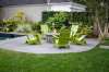 Firepit and Plantings