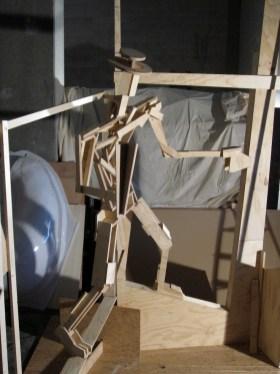houten skelet