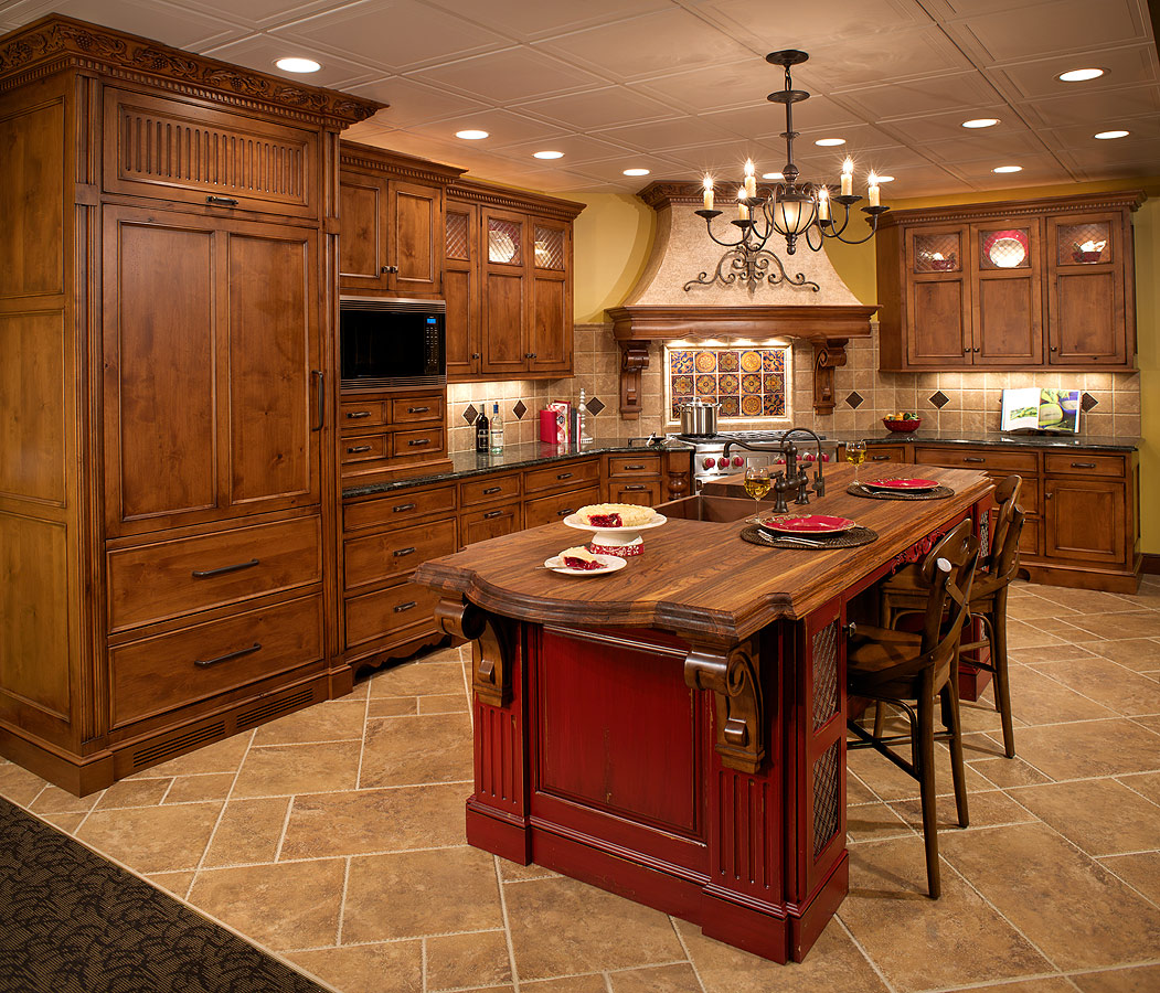 Tuscan Kitchen Design Pictures