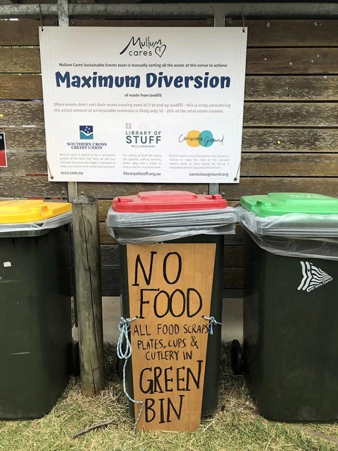 maximum diversion at Mullum Fest