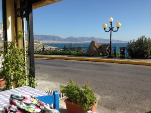 Ausblick aus Restaurant am Piräus