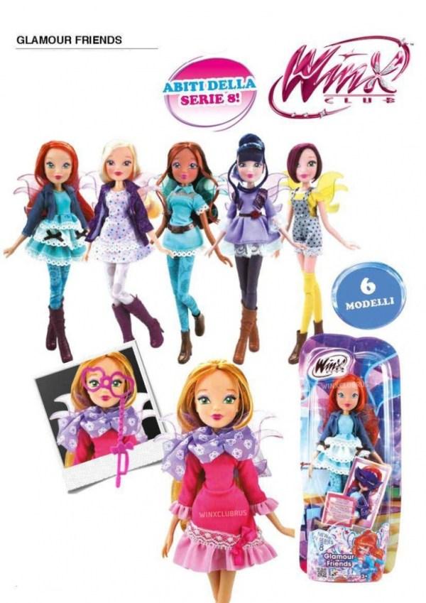 Картинки кукол винкс по 8 сезону