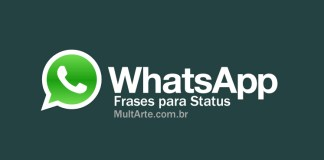 Frases para status do Whatsapp