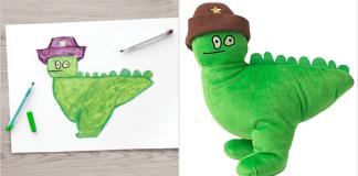 Desenho se transformou em brinquedo