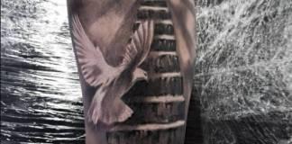 Tatuagens nos braços masculino