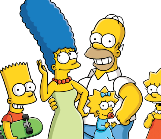 Os Simpsons PNG
