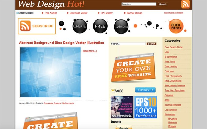 Web Design Hot
