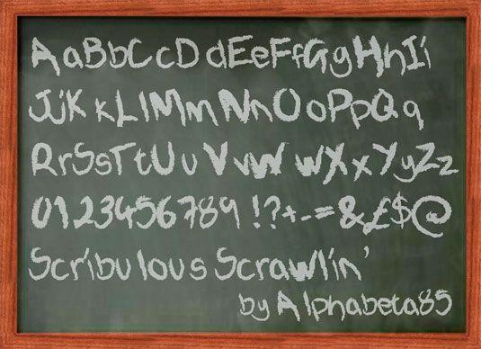 Scribulous Scrawlin