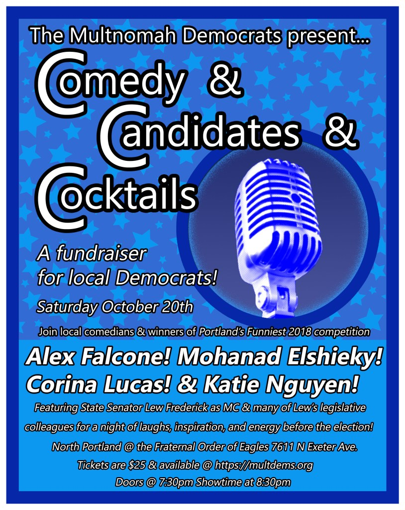 Comedy And Candidates And Cocktails