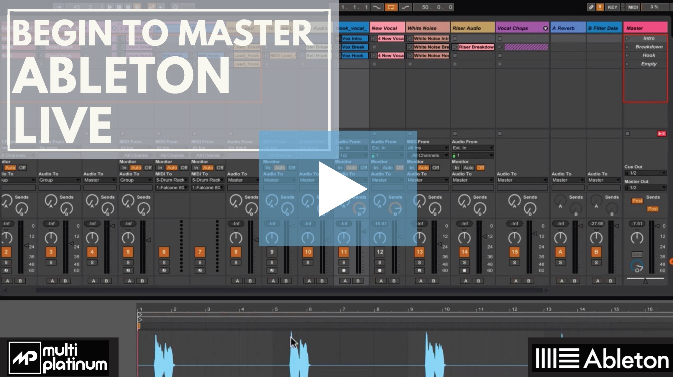Begin To Master Ableton Live