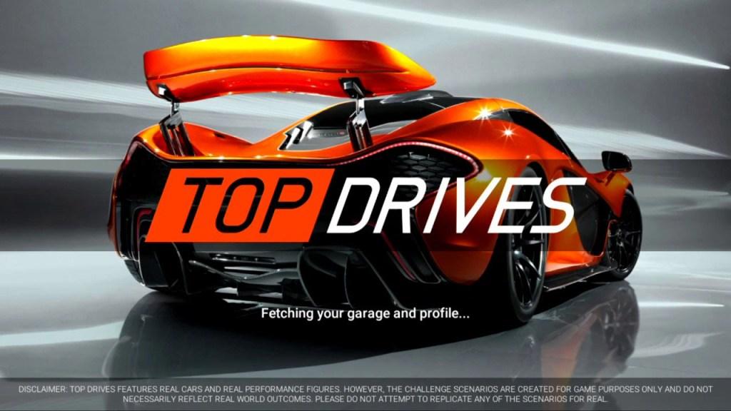 Top Drives mod apk