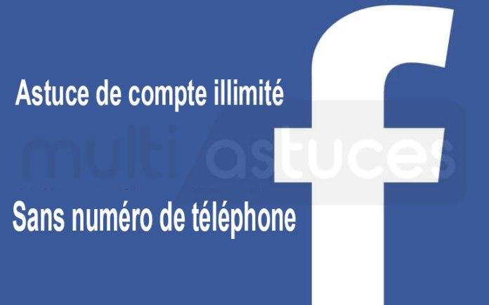 créer des comptes Facebook illimités