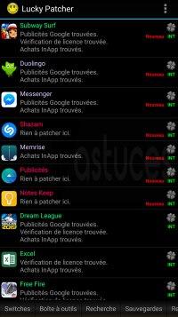 craquer quelques applications ou jeux Android