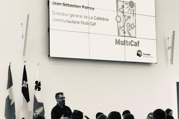 Présentation conjointe MultiCaf et Centraide