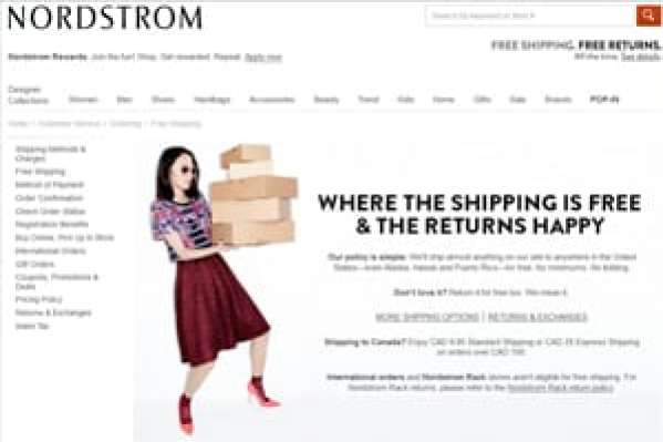 Nordstrom Wins Award for Excellence in Customer Returns