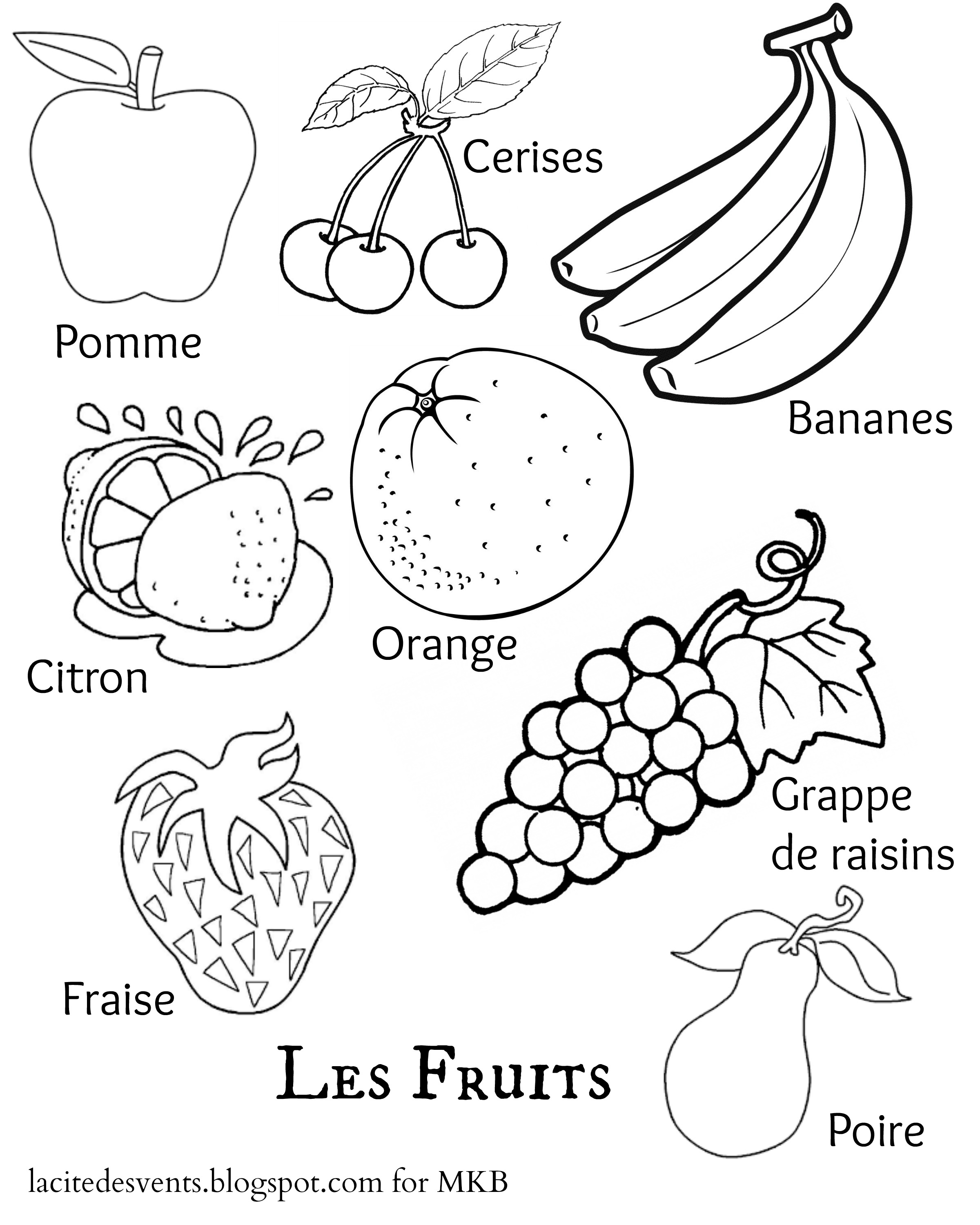 Multilingual Printables Fruits And Vegetables In 7 Languages