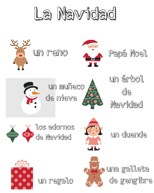 Multilingual Christmas Printables