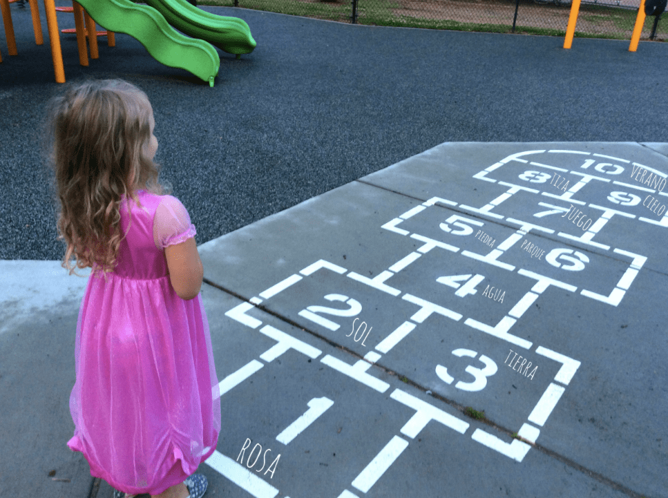These language learning outdoor activities are sure to be a hit with kids.