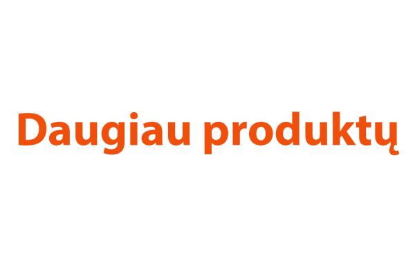 Daugiau produktų