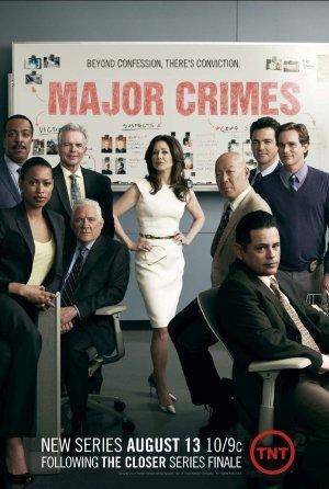 Major Crimes poster