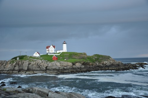 Able to with stand life's storms, the Nubble Lighthouse, York ME.